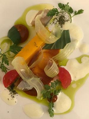 Un piatto del ristorante Reflet d'Obione (foto: d. bragaglia© mondointasca.it)