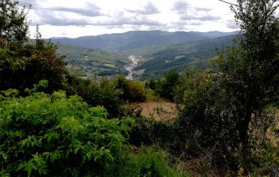 Val Nure,-panorama