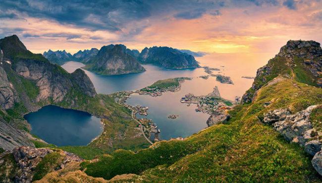 Alle isole Lofoten per sfuggire al grande caldo