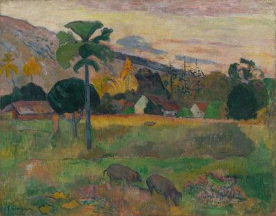 Paul-Gauguin Haere-Mai-,-1891.-Olio-su-iuta