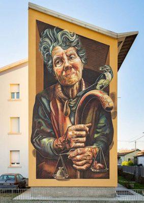 Street art San Bartolomeo di Vera Bugatti