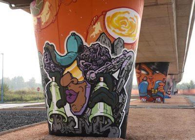 Street art a brescia. A Sanpolino  (Ph Christian Penocchio)
