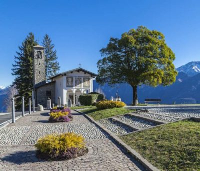 Ghisallo: sanctuary dedicated Madonna Protectress of cyclists