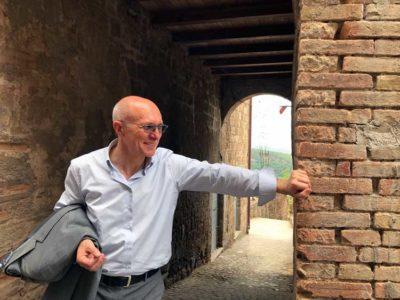 Il sindaco di Celleno Marco Bianchi