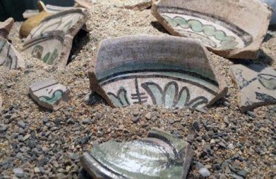 Celleno Le ceramiche venute alla luce