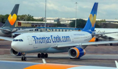 thomas cook aerei