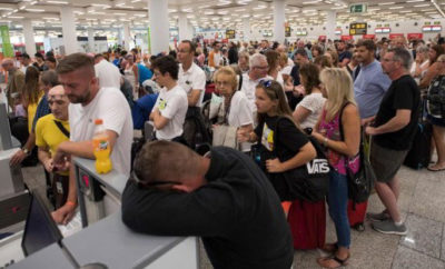 thomas cook passeggeri-aeroporto