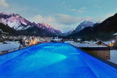 piscine Excelsior Dolomites Lodge