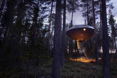 Treehotel camera Ufo