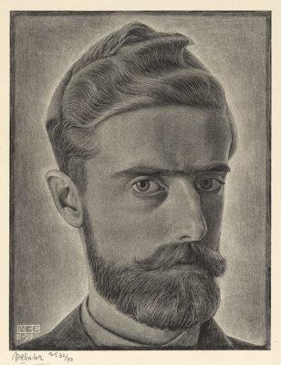Escher-autoritratto-Self