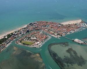 L'Isola di Grado vista dall'alto