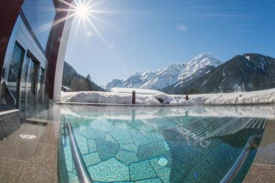 La piscina dell'Hotel Sander