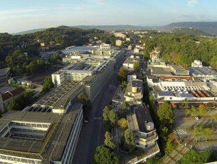 Veduta della città industriale di Ivrea