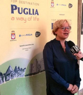 Loredana Capone, assessore regionale al Turismo (foto G. Nitti)