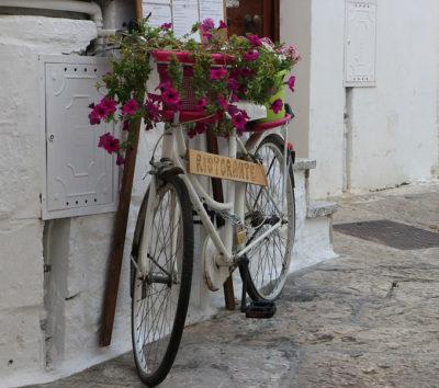 modello Puglia-bicicletta