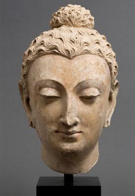 India antica Testa del Buddha