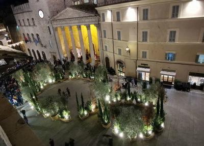 Natale ad Assisi Bosco-incantato