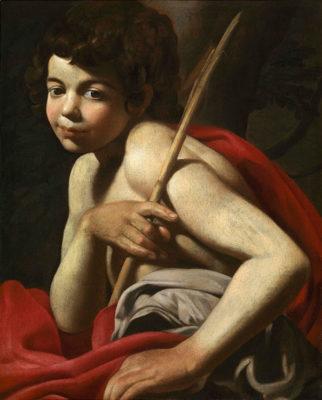 Giovanni-Battista-Caracciolo-detto-Battistello,-San-Giovannino
