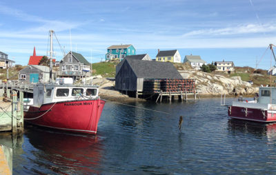 Halifax-Villaggio-di-pescatori-Peggy's-Cove
