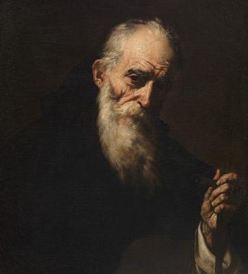 Dopo Caravaggio Jusepe-de-Ribera-Sant-Antonio-abate