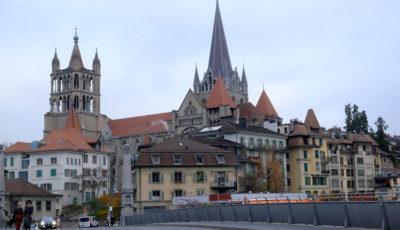 Losanna, Vista-sulla-cattedrale