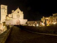 Natale ad Assisi, presepe al prato