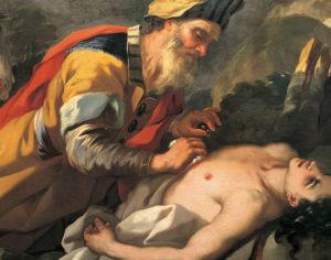 """Collezione Museo Palazzo Pretorio. Nicola Malinconico """"Il buon Samaritano"""""""