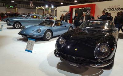 Milano Autoclassica le-più-belle-Ferrari