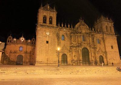 Veduta notturna della Cattedrale