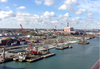 Porto-di-Boston-fotografato-dalla-nave