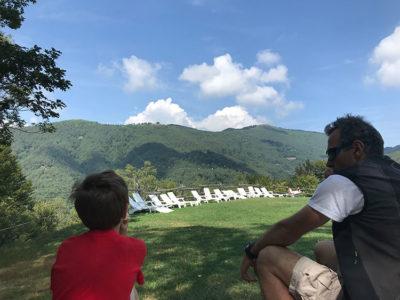 vacanza slow Riposare-ammirando-il-panorama