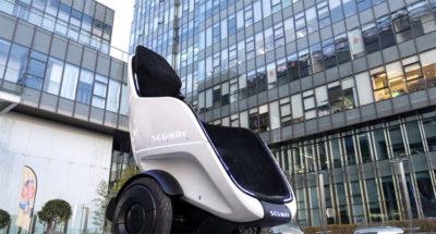 nuova mobilità S_Pod Segway