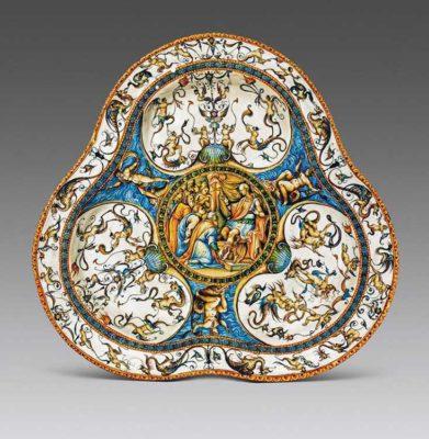 Urbino Palazzo Ducale Rapahel Ware. Urbino I colori del Rinascimento
