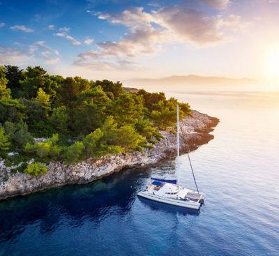 vela Croazia-catamarano