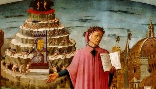 Nel #Dantedì #iorestoacasa e scrivo la Divina Commedia sui muri