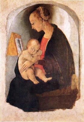 Madonna-col-Bambino,-Raffaello-1498