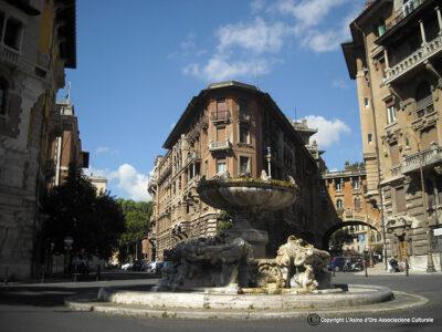 quartiere Coppedè Piazza-Mincio