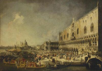 Canaletto,-Ricevimento-Ambasciatore-francese-Palazzo-Ducale