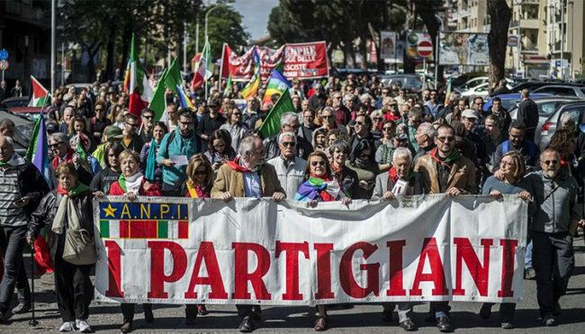 Festa della Liberazione dalle strade alla piazza virtuale in casa