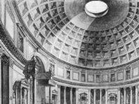 Veduta interna del Pantheon -  opera di Francesco Piranesi (Istituto Centrale per la Grafica, Roma)