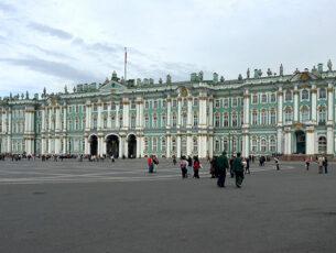 San Pietroburgo, Palazzo d'Inverno, sede del Museo Hermitage