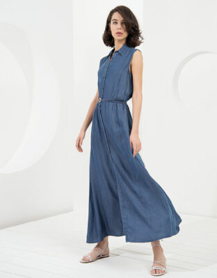 denim dressd CANNELLA-denim