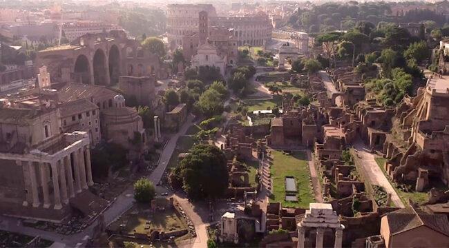 Veduta del Parco Archeologico del Colosseo