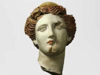 Testa con diadema, museo MArTA