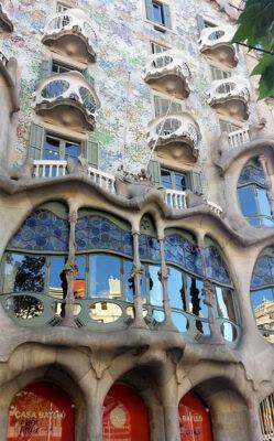 Barcellona-Casa Batlló di Antoni Gaudì