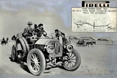 Il-Raid Itala con gomme Pirelli