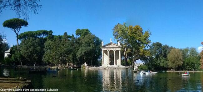 Il laghetto di Villa Borghese (Foto: © L'Asino d'Oro Associazione Culturale)