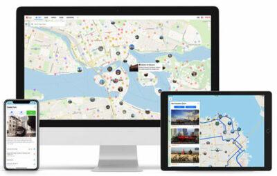 Viaggiare green Mappe-digitali