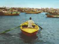 Youssef Nabil: Say Goodbye, Self Portrait, Alexandria 2009
