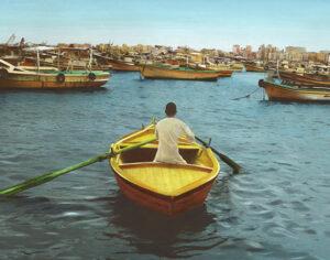 Youssef Nabil: Say Goodbye, Self Portrait, Alexandria 2009
